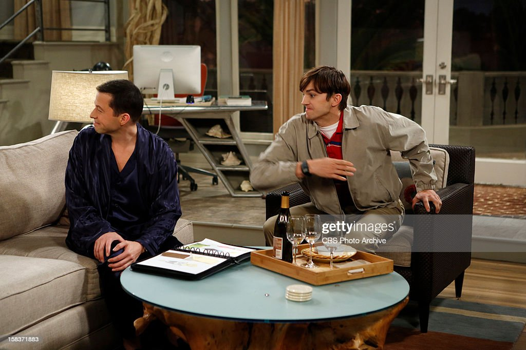 'Welcome to Alancrest' --Using Walden's money, Alan invests in Kate's fashion line. Meanwhile, leading a double life starts to take its toll on Walden, on TWO AND A HALF MEN, Thursday, Jan. 3 (8:31 - 9:01 PM, ET/PT) on the CBS Television Network. Left: Alan Harper (Jon Cryer) Right: Walden Schmidt