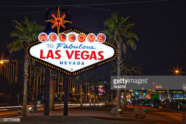 las vegas sign stock photos and pictures getty images. Black Bedroom Furniture Sets. Home Design Ideas