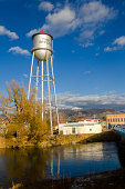 Welcoming Water Tower- Twin Bridges, Montana, USA