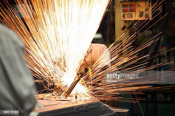 welding assemble line