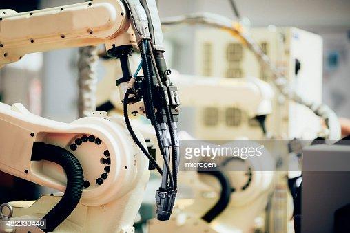 Soudage des Robots