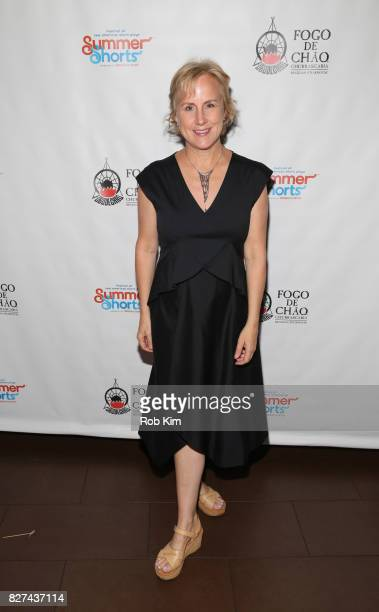 Welker White attends the OffBroadway opening night party for 'SUMMER SHORTS 2017' at Fogo de Chao Churrascaria on August 7 2017 in New York City