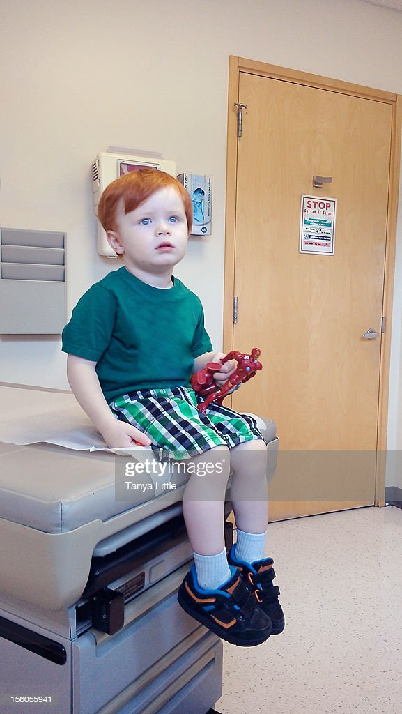 Well Child Check-Up : Stock Photo