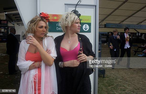 Well dressed female racegoers during the Royal Ascot race meeting After over a decade of Labour Government in Great Britain the gap between the...