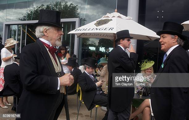 Well dressed racegoers in top hats and tails during the Royal Ascot race meeting After over a decade of Labour Government in Great Britain the gap...