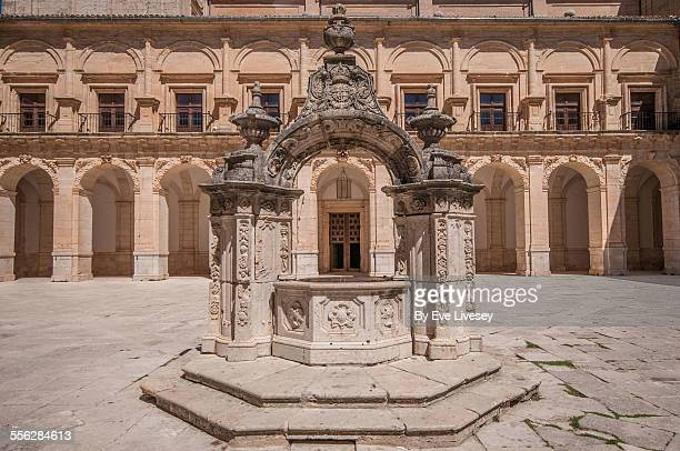 Well in the Courtyard of Ucles Monastery