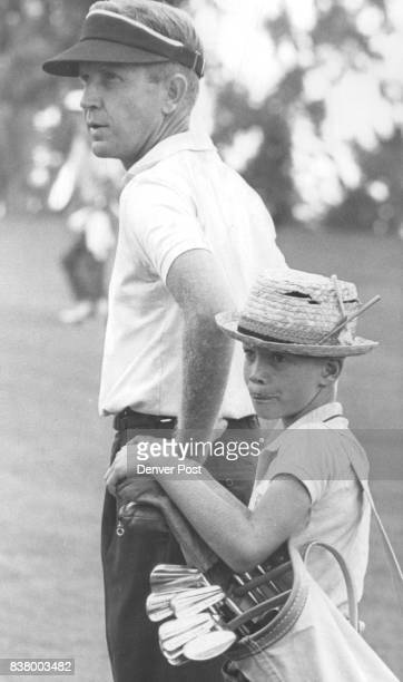 JUL 15 1961 JUL 16 1962 'Well Pop What Next' Mark Fowler 10yearold son of Les Fowler appears to be figuring out his father's next shot in action...