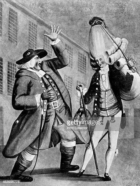 'Welladay Is this my son Tom' 1770 Illustration from Social Caricature in the Eighteenth Century With over two hundred illustrations by George Paston...