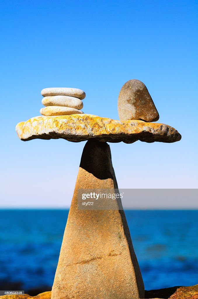 Well-balanced : Stock Photo
