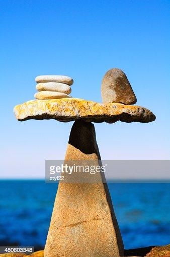 Well-balanced : Stock Photo