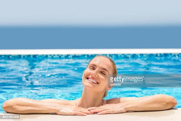 Bien-être en piscine & pur bonheur