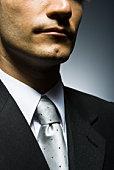 Well-dressed businessman, portrait