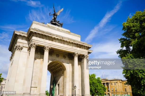 Wellington Arch at Hyde Park Corner in London, England