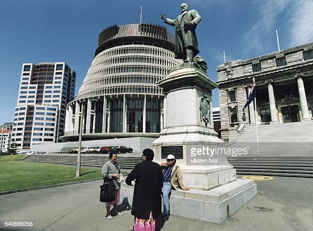 Das wegen seiner Form 'Beehive' genannte Parlament