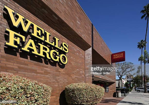 Wells Fargo Bank in Hollywood on November 14 2016 in Los Angeles California