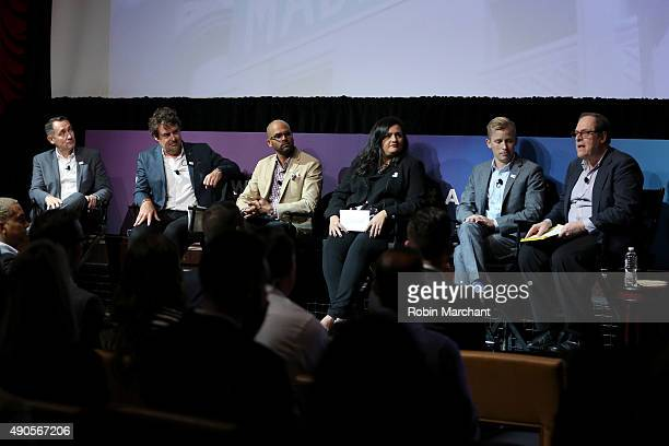 Wells Fargo Vice President LGBT Segment Manager John Lake DIRECTV SVP of Marketing Jon Gieselman Tylenol Sr Marketing Director Manoj Raghunandanan...