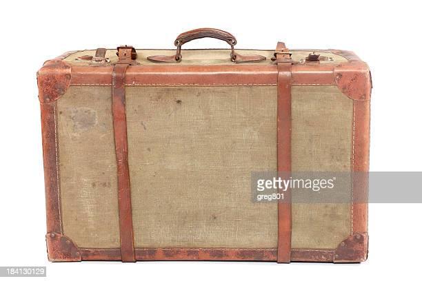 Well-Traveled Vintage Suitcase XXXL