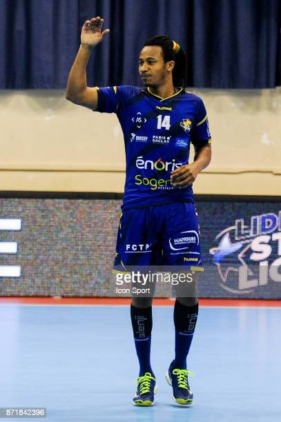Welsau Bungue of Massy during the Lidl Starligue match between Massy and Chambery on November 8 2017 in Massy France