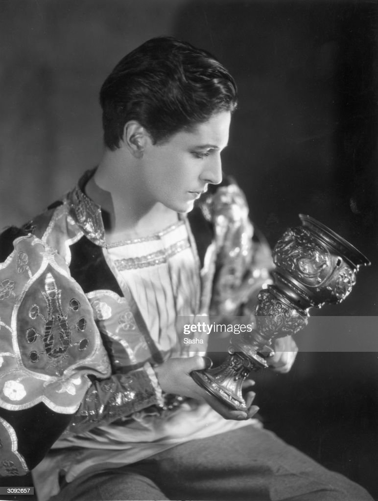 Welsh actor composer songwriter and dramatist Ivor Novello as Benvenuto Cellini in 'The Firebrand'