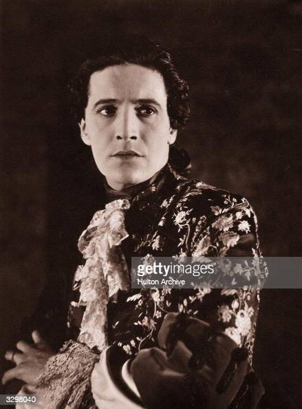 Welsh actor composer songwriter and dramatist Ivor Novello stars in 'The Man Without Desire' directed by Adrian Brunel for AtlasBiocraft