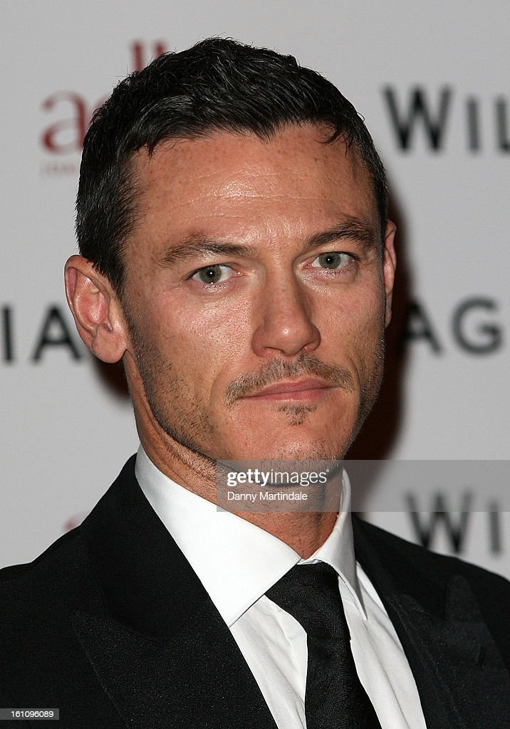 Welsh actor Luke Evans attends the WilliamVintage Dinner Sponsored By Adler at St Pancras Renaissance Hotel on February 8, 2013 in London, England.