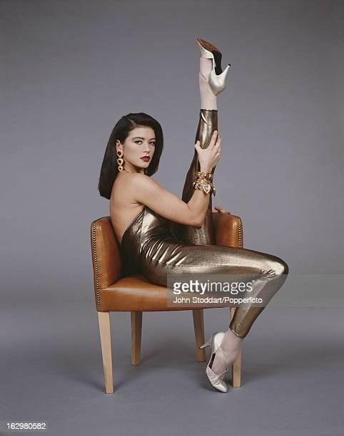 Welsh actress Catherine ZetaJones 1992