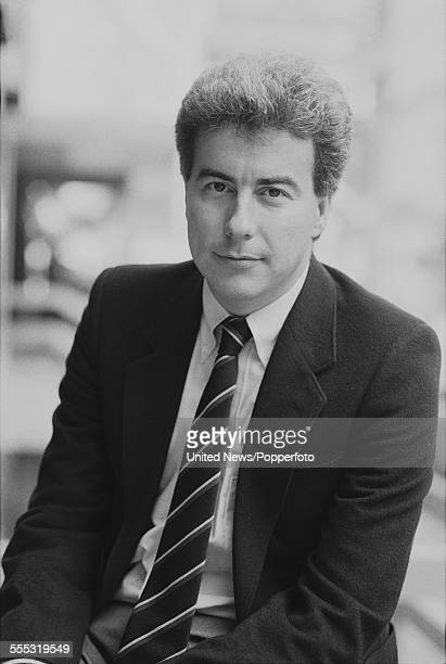 Welsh author and novelist Ken Follett pictured during a press event to promote his new book 'On Wings of Eagles' in London on 26th September 1983