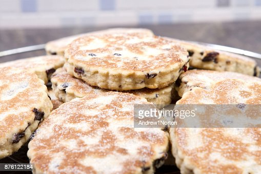 Welsh cakes : Stock Photo