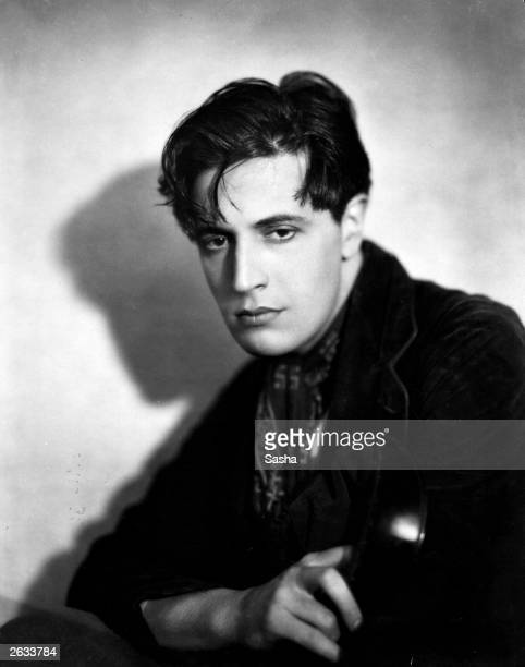 Welsh composer actor and playwright Ivor Novello plays Pierre Boucheron in 'The Rat' the early film version of his own play