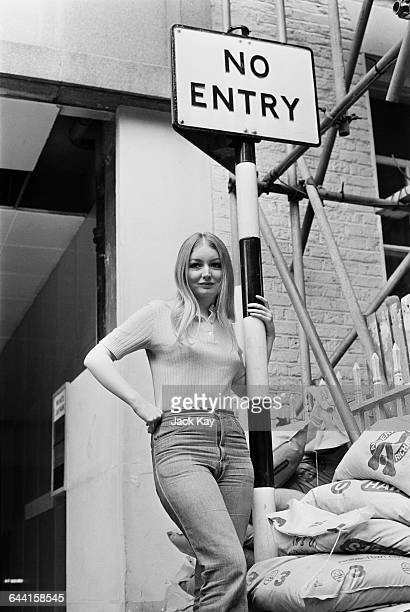 Welsh folk singer Mary Hopkin London UK 17th June 1971
