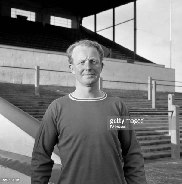 Welsh international footballer Ivor Allchurch in 1965 Allchurch known as Welsh soccer's 'Quiet Man' played for Swansea City Newport County and...