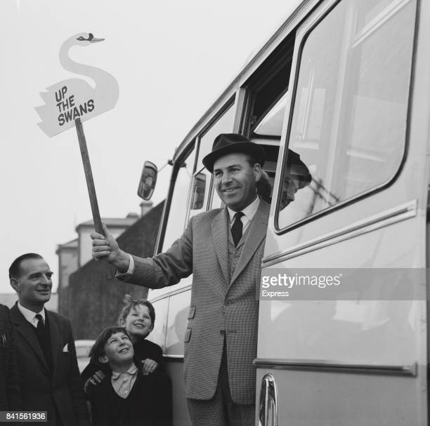 Welsh professional footballer and manager of Swansea City AFC Trevor Morris UK 9th March 1964