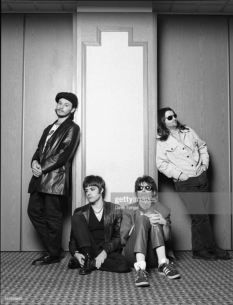 Welsh rock group Manic Street Preachers, London, 1993. Left to right: <a gi-track='captionPersonalityLinkClicked' href=/galleries/search?phrase=James+Dean+Bradfield&family=editorial&specificpeople=214013 ng-click='$event.stopPropagation()'>James Dean Bradfield</a>, <a gi-track='captionPersonalityLinkClicked' href=/galleries/search?phrase=Richey+Edwards&family=editorial&specificpeople=4893061 ng-click='$event.stopPropagation()'>Richey Edwards</a>, <a gi-track='captionPersonalityLinkClicked' href=/galleries/search?phrase=Nicky+Wire&family=editorial&specificpeople=235374 ng-click='$event.stopPropagation()'>Nicky Wire</a> and Sean Moore.