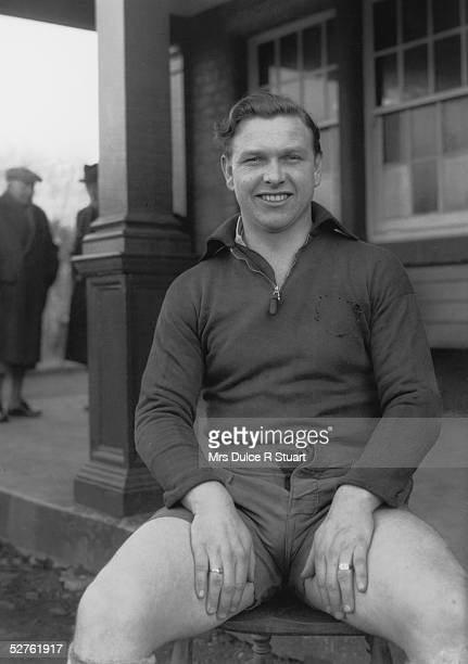 Welsh rugby player Bleddyn Williams circa 1950