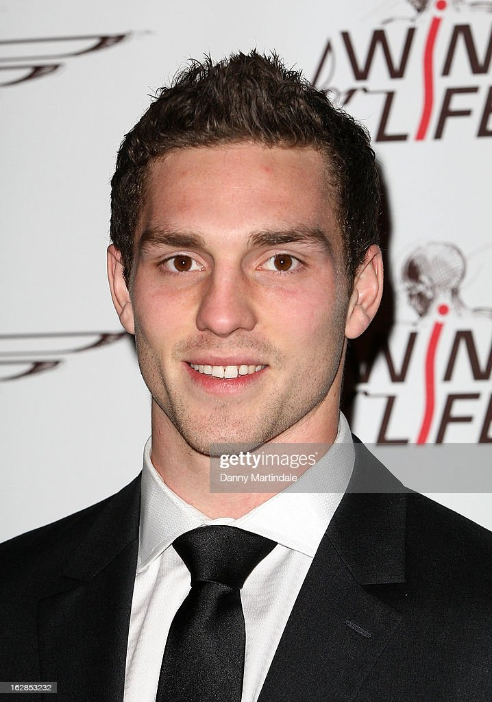 Welsh rugby player <a gi-track='captionPersonalityLinkClicked' href=/galleries/search?phrase=George+North&family=editorial&specificpeople=7320853 ng-click='$event.stopPropagation()'>George North</a> attends a dinner and ball hosted by The Cord Club in aid of Wings For Life at One Marylebone on February 28, 2013 in London, England.