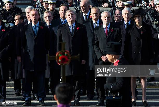 Welsh Secretary Alun Cairns Defence Secretary Michael Fallon Leader of the Liberal Democrats Tim Farron Scottish Secretary David Mundell Former Prime...