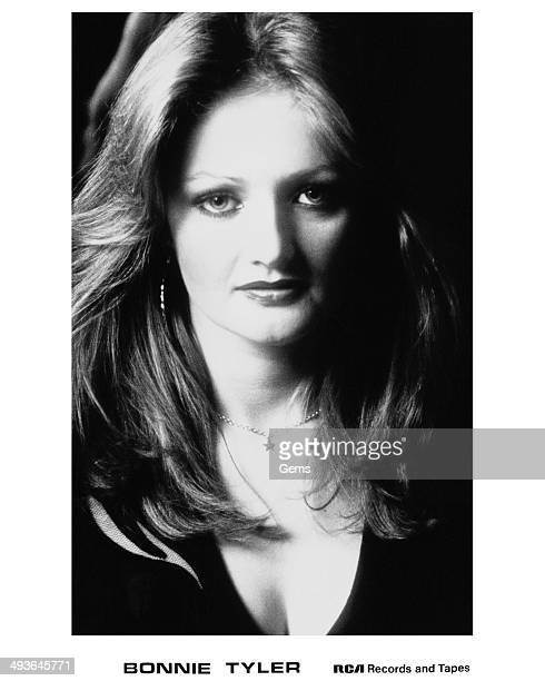 Welsh singer and songwriter Bonnie Tyler circa 1980