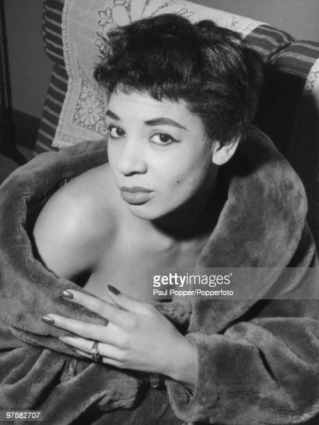 Welsh singer Shirley Bassey 21st November 1956