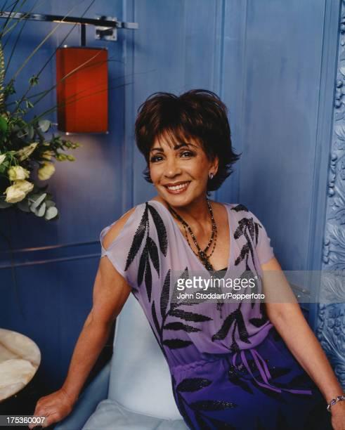 Welsh singer Shirley Bassey circa 2000