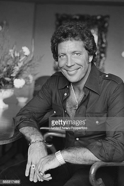 Welsh singer Tom Jones pictured in London on 6th September 1983