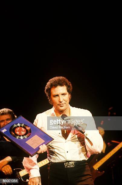 Photo of GOLD DISC and Tom JONES