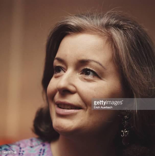 Welsh soprano Gwyneth Jones circa 1970