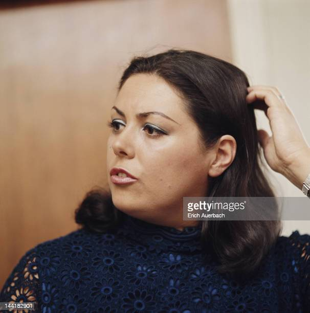 Welsh soprano Margaret Price circa 1967
