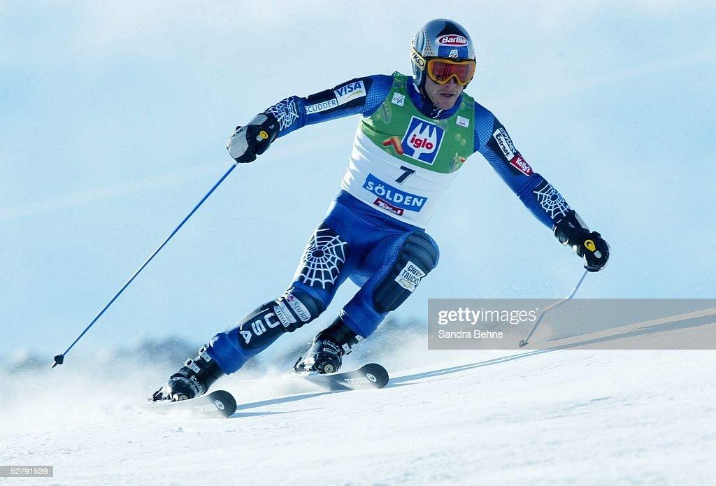 Weltcup 03/04, Soelden; Riesenslalom/Maenner; Bode MILLER/USA