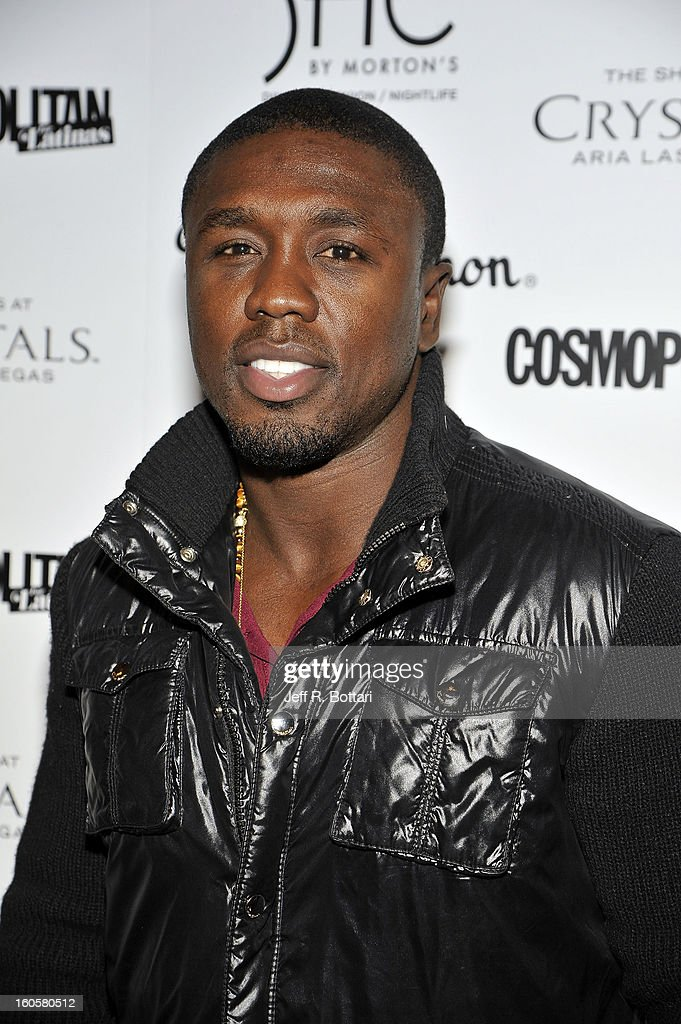 Welterweight Champion, Andre Berto arrives at the grand opening of SHe by Morton's at Crystals at CityCenter on February 2, 2013 in Las Vegas, Nevada.