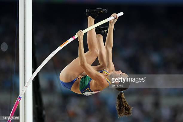 Weltmeisterin world cahmpion Fabiana Murer AUS Stabhochsprung der Frauen Pole Vault women final IAAF Leichtathletik WM Weltmeisterschaft in Daegu...