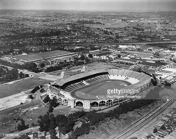 Wembley Stadium in London the venue for the Summer Olympics in London June 1948