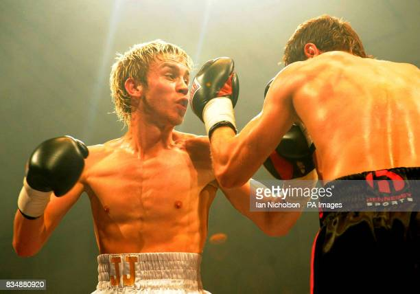 Wembley's Steve O'Meara right faces Peterborough's JJ Bird in a LightMiddleweight contest at Bethnal Green's York Hall Steve O'Meara won the bout on...