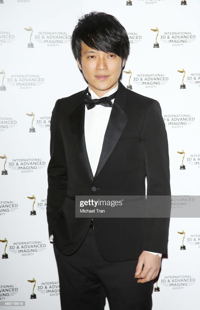 Wen Shang Yi of Mayday arrives at the 2014 International 3D and Advanced Imaging Society's Creative Arts Awards held at Steven J. Ross Theatre on January 28, 2014 in Burbank, California.