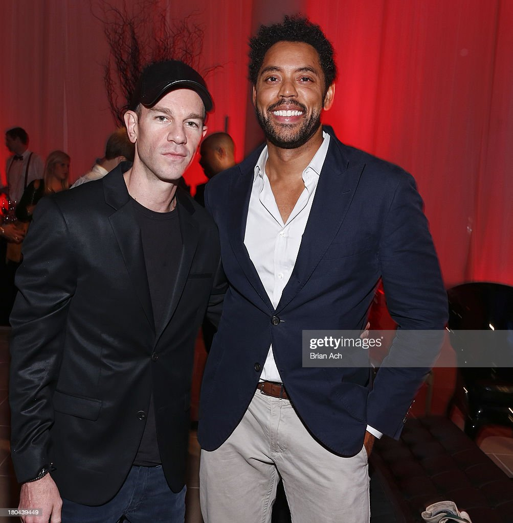 Wendell Brown and <a gi-track='captionPersonalityLinkClicked' href=/galleries/search?phrase=Josh+Reed&family=editorial&specificpeople=229010 ng-click='$event.stopPropagation()'>Josh Reed</a> is seen at the Tudor Watch US Launch Event on September 12, 2013 in New York City.